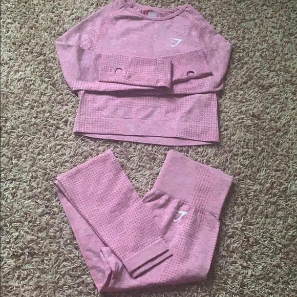 Lavender Workout set - Top and Leggings